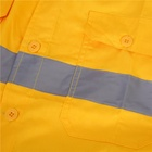Work Wear 2 Color Splicing Work Clothes Work Wear Safety Work Wear Uniform