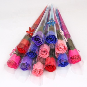 Top selling product wholesales cheap soap paper roses flower mother day gift from rose flowers