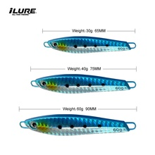 ILURE Surfcasting 30g 40g 60g Angeln Locken Harten Metall <span class=keywords><strong>Japan</strong></span> Jigs
