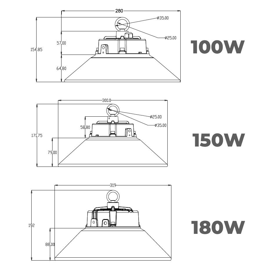 S Series 150w UFO