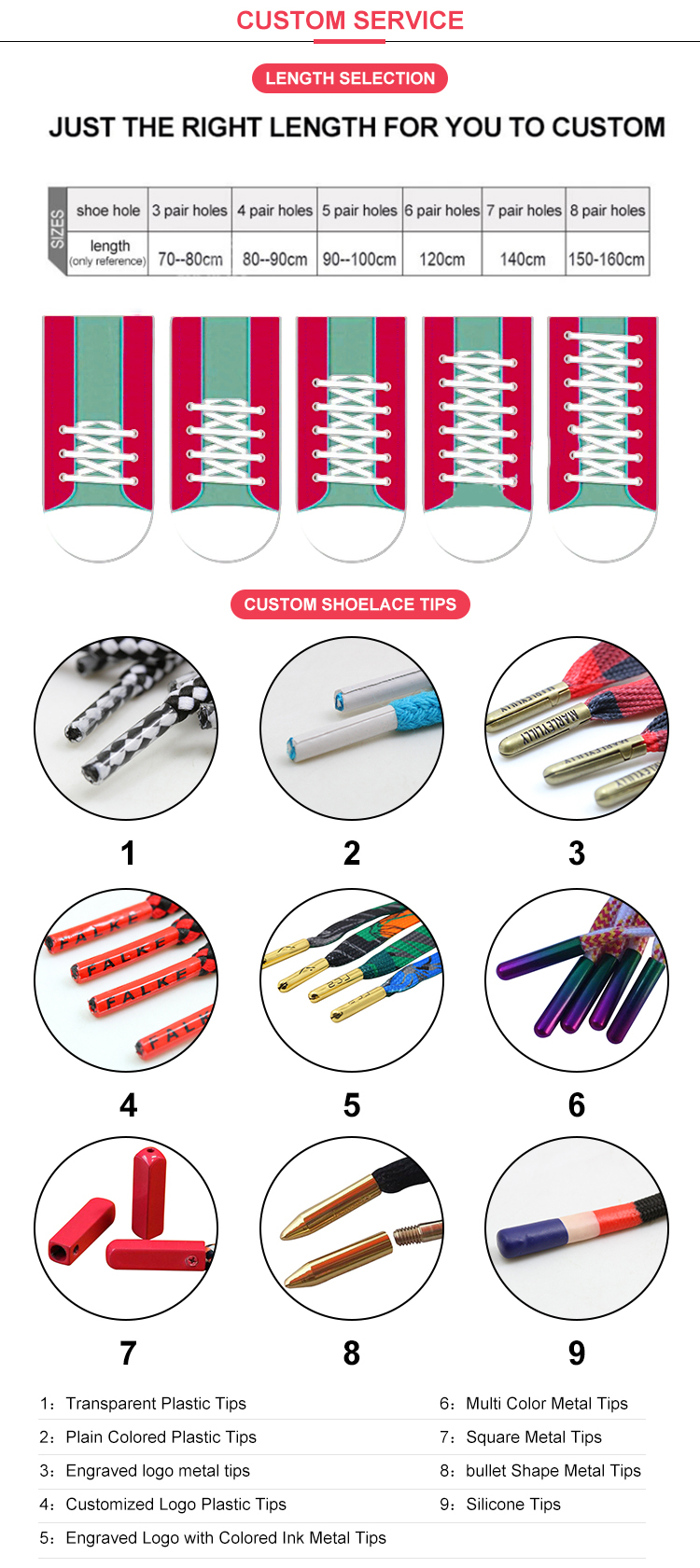 shoe lace shipping cost