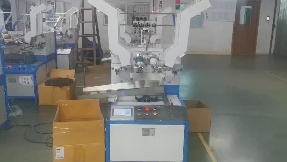 HRD-839 besar kertas kumparan berliku mesin otomatis winder