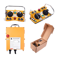 F24-60 industrial remote control transmitter and receiver system joystick