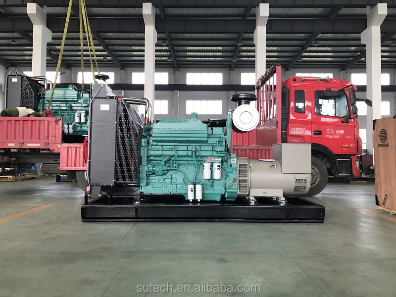 Silent 700kva diesel generator price with Cummins engine QSK19-G4 and Stamford Alternator