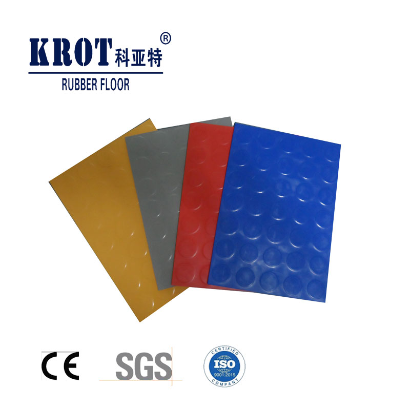 anti-slip rubber floor for airport hospital ice rink ship train factory