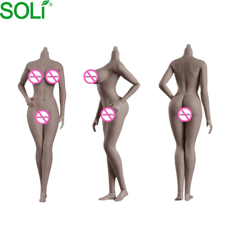 JIAOU DOLL 1//6 Scale European Shape New Seamless Female Body Action Figure