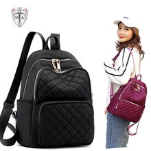 MTA 2019 Fashion Nylon Ladies Bags Mini Waterproof Backpack for Women