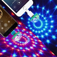 night club dj party laser lights usb led moving disco lights ball for stage