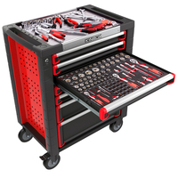 Ningbo Kinbox Complete Tool Box with 250 pcs Mechanical Tool Set For Auto Repair
