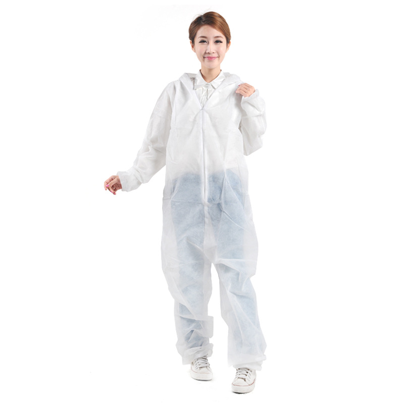 E1149 Dustproof Nonwovens Spray Paint Disposable Coverall Cloth Overall Isolation Gown Hood Disposable Safety Clothing - KingCare | KingCare.net