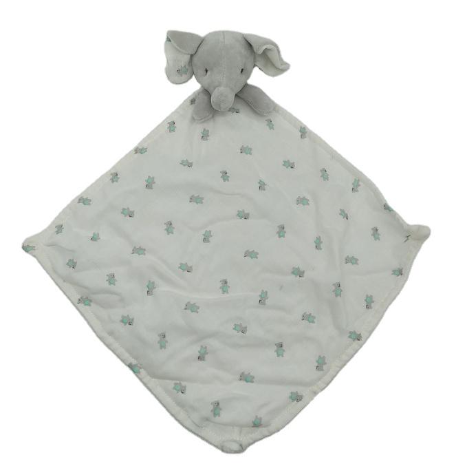 Pasgeboren Baby Gift Set Slaap Rammelaar Pluche Kussen Speelgoed Olifant Bunny Knuffel Baby Dekbed Deken
