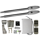 24VDC solar powered automatic swing gate opener kit door operator system