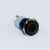 LAS3-16F-11EM/A 16MM 12V 1NO1NC Ring Beleuchtet Momentary Schwarz Metall Push Button Switch