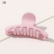 Пластиковые геометрические веерообразные заколки для волос с цветочным узором, желейные цветные шпильки, банановые ручки, зажим для волос ...(Китай)