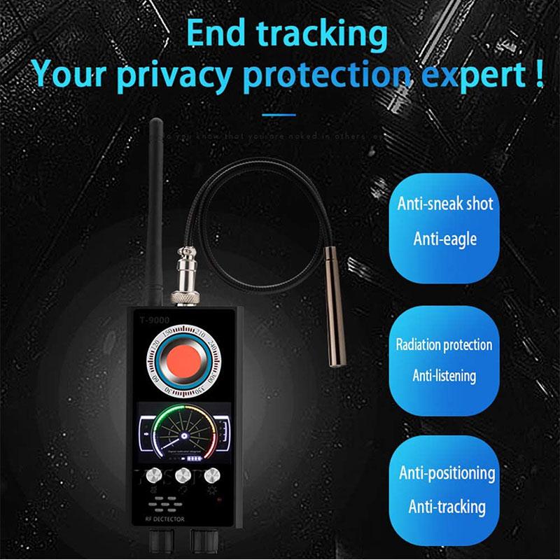 Freeshipping Không Dây GPS Rf Bug Gps Tín Hiệu Detector Chống Nghe Lén Điện Thoại Thiết Bị Detector GPS Tracker Finder