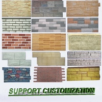polyurethane artificial Wall Panels cultured stone