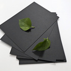 Good Stiff black paper rolls laminated cardboard for packing
