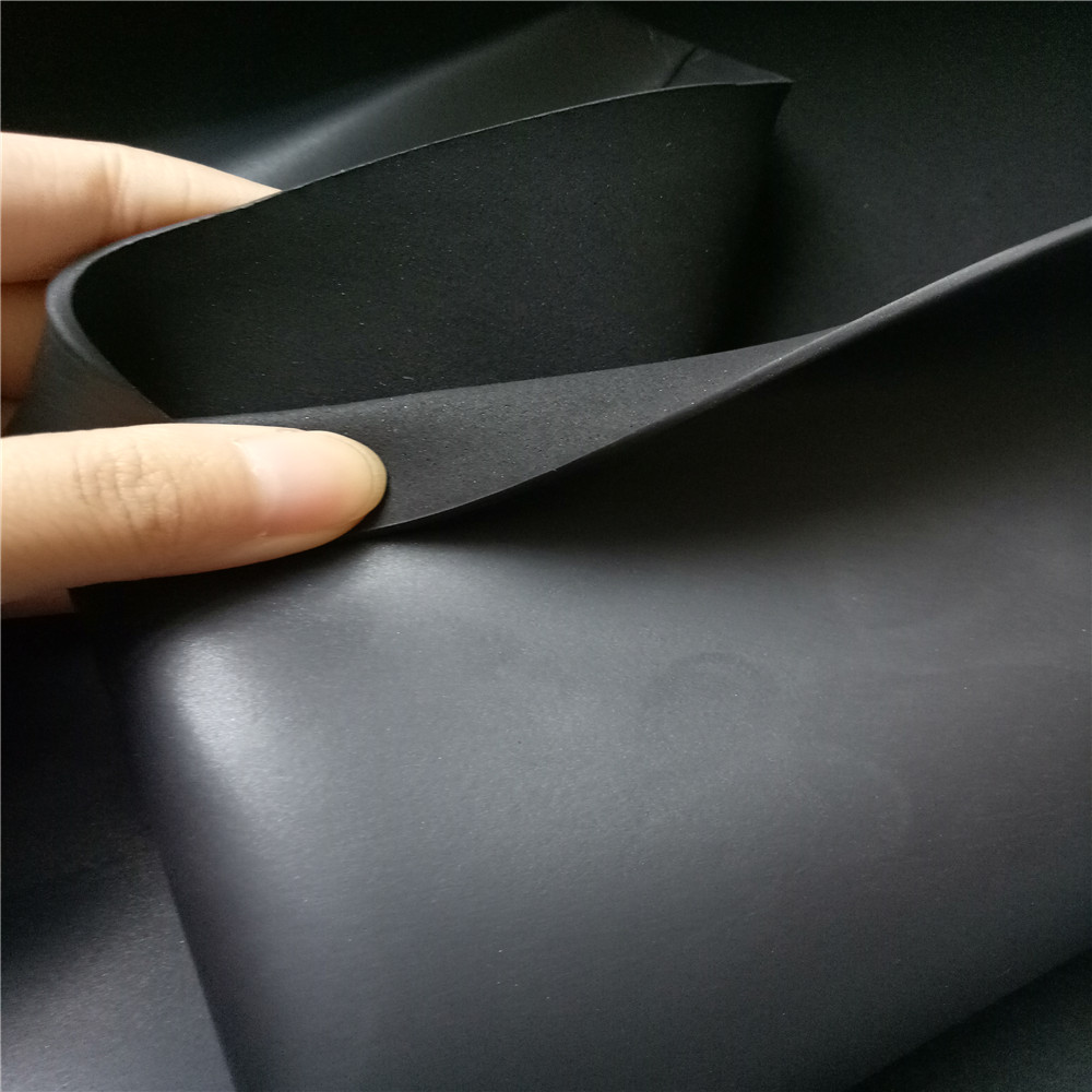 Jianbo Stretch 2mm CR smooth skin neoprene sheet for Haircut collar