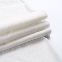 OEM wholesale anti-allergic antistatic warm french terry knitted 100% cotton fabric
