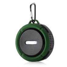 Waterproof Wireless Speaker <span class=keywords><strong>TF</strong></span>/Micro Kartu Mini Stereo Outdoor Speaker Portabel Dengan Pengisap Kait