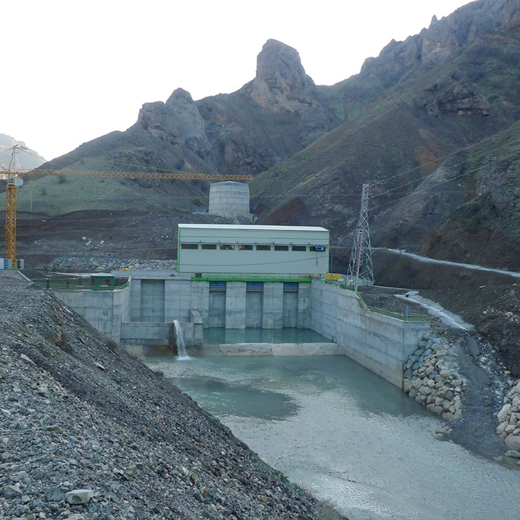 ที่ดีที่สุดEconomic Power Station Hydro Power Francis Water Turbine Generator