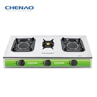 stainless steel table top gas stove infrared burner