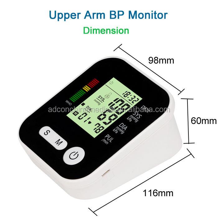 OEM इलेक्ट्रॉनिक बांह प्रकार रक्तचाप पर नज़र रखता है सस्ते बीपी पर नज़र रखता है