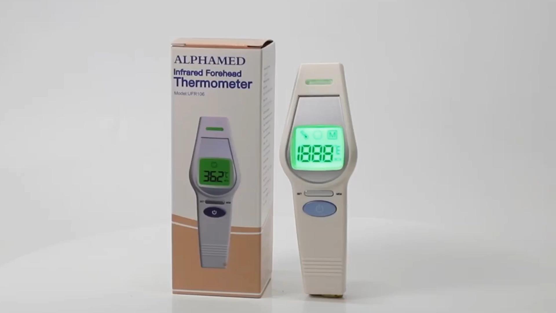 Sano medico produttore Senza contatto Digitale Termometro A Infrarossi Sulla Fronte Del Bambino Termometri