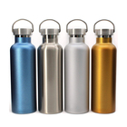 Eco-friendly 750ml customizable double wall stainless steel insulated sports cool water water bottle
