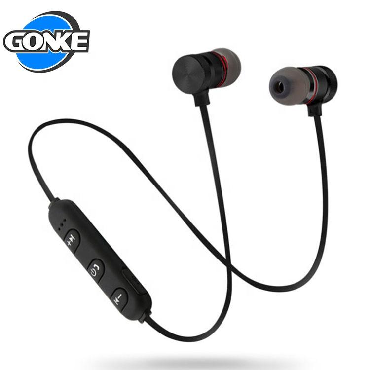 Fashion Portable Earbuds Wholesale Waterproof Mic Metal Sport Wireless Bluetooths Headsets - idealBuds Earphone | idealBuds.net