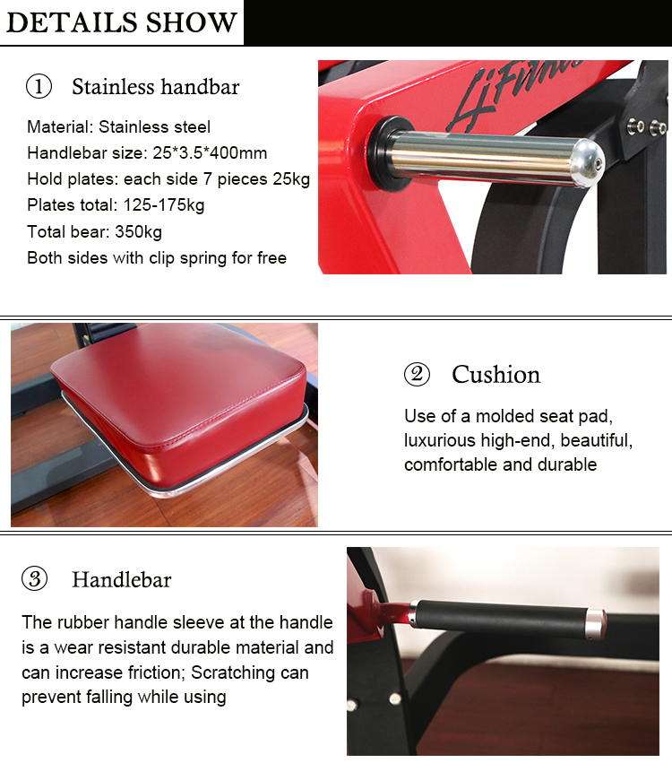 Foshan Indoor Incline Chest Press Workout Fitness Equiment For Home Gym