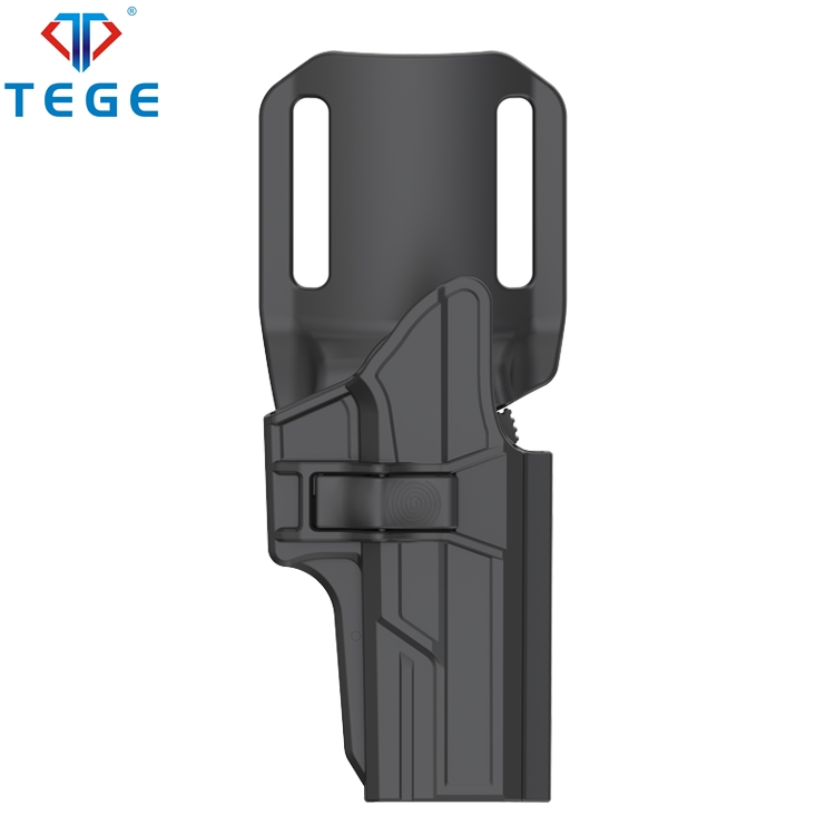 TEGE Drop Offset Holster for Police Military Glock 17/22/31Gen 1-5 Polymer Pistol Holster