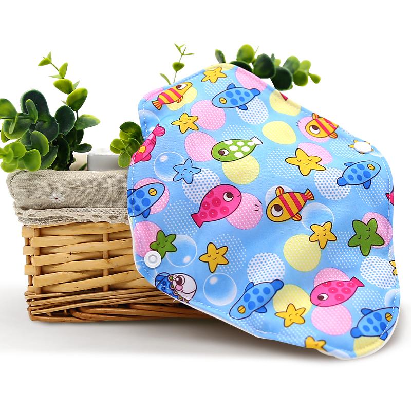 Toptan yıkanabilir kadın adet ped kullanımlık organik pamuk ucuz sıhhi peçeteler