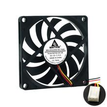 Вентилятор 8010 5 в 12 В 24 в 80x80x10 мм, Бесщеточный вентилятор охлаждения, компьютерная система процессора, радиатор, блок питания, USB вентилятор о...(Китай)