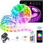 Rgb Led Strip Ledrgb Led Rgb Strip Lights 5050 5050 3528 12 V 24 V IR/Blueteeth/WIFI/music Sensing Intelligent Remote Flexible RGB Waterproof Landing LED Strip Lights