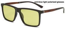 Feishini желтый анти-синий светильник, очки, блокирующий фильтр, уменьшает напряжение, прозрачные очки для игрового компьютера, очки для мужчин,...(Китай)