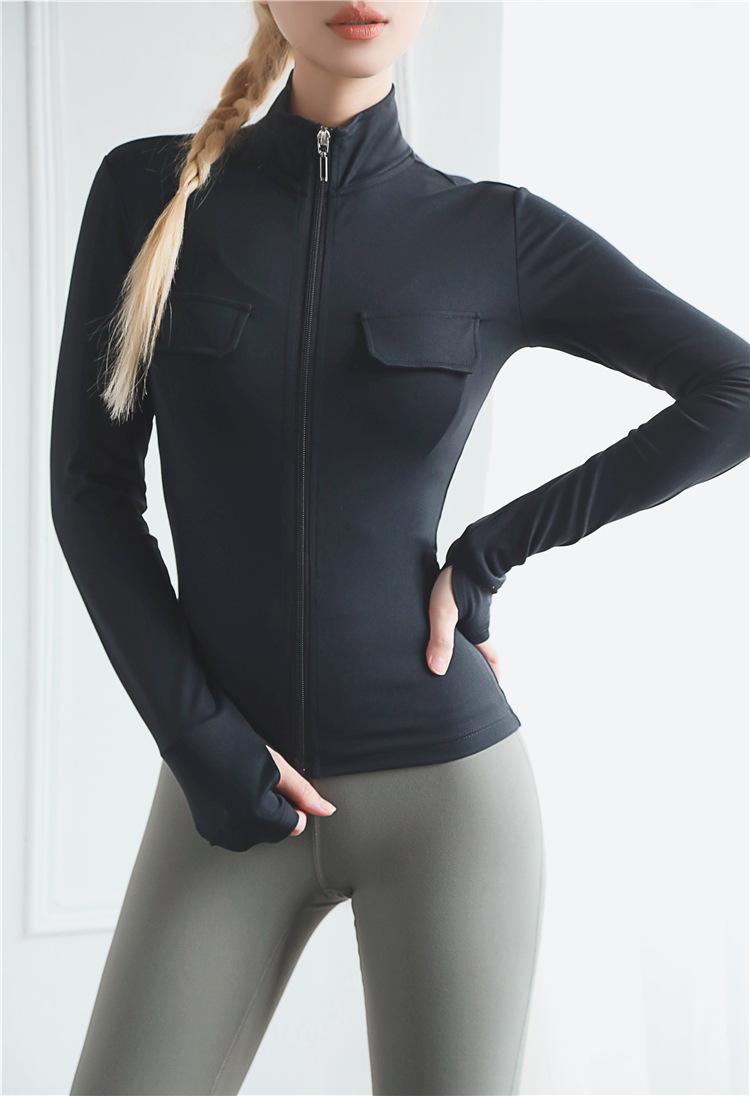 Women Jacket With Zipper 7