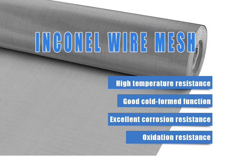 Plain weave Inconel wire mesh net filter screen