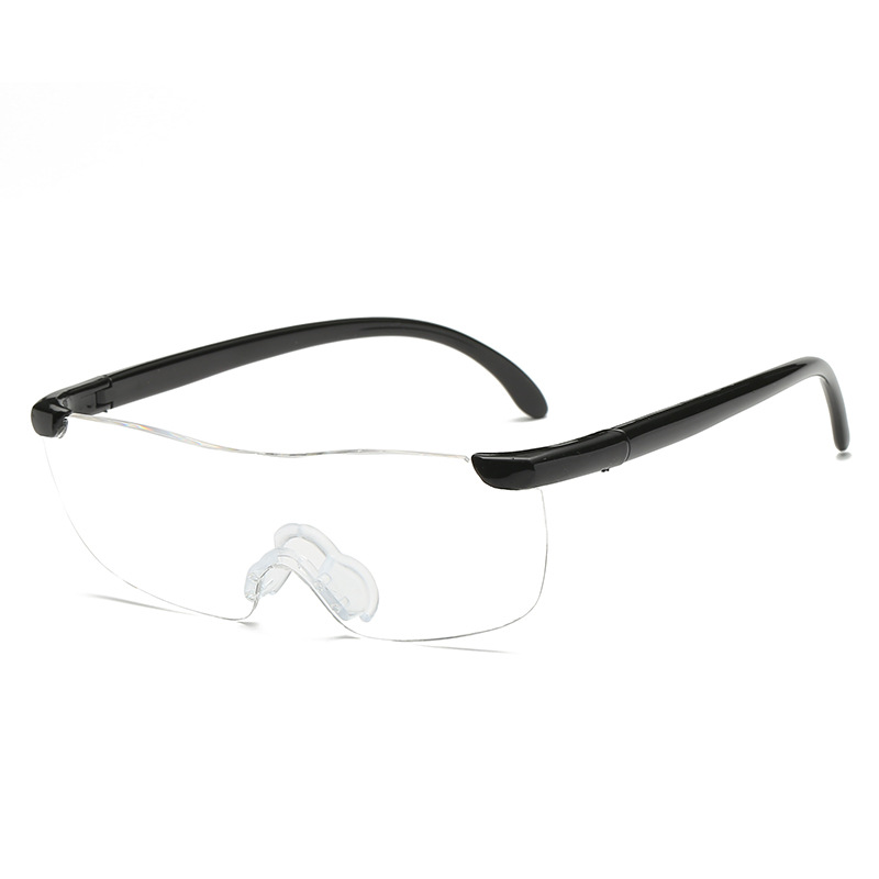 2020 High quality big vision thick level reading glasses with +250 degree for TV Shopping