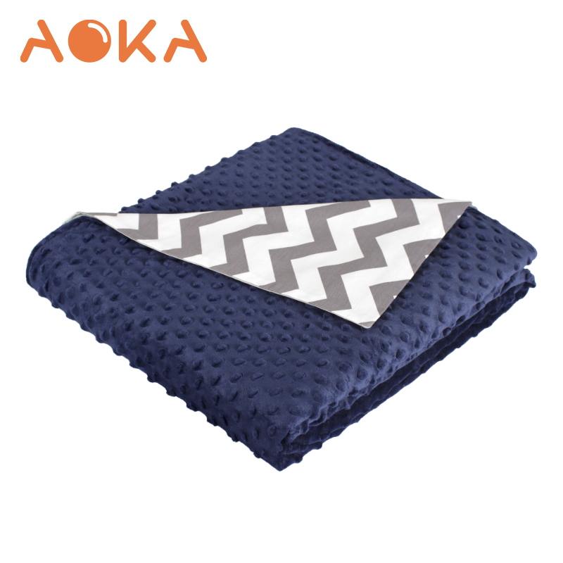 "Aoka 60 ""x 80"" Capa de Alta Qualidade para Cobertor Ponderada ponderada cobertor sensorial"
