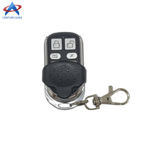 Sliding Cover Remote Control Copy 4 Channel Cloning Duplicator Key Learning Code Electric Gate Garage Door Controller 433 MHz