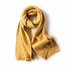 Wholesale 2019 Newest 100% Acrylic Plain Dyed Long Size 10 Colours High Quality Cashmere Scarf Women With Ball Top