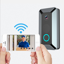 Originele EKEN V6 Nachtzicht <span class=keywords><strong>IP</strong></span> Deurbel Visuele <span class=keywords><strong>Intercom</strong></span> Smart WiFi Video Deurbel Camera Met Chime