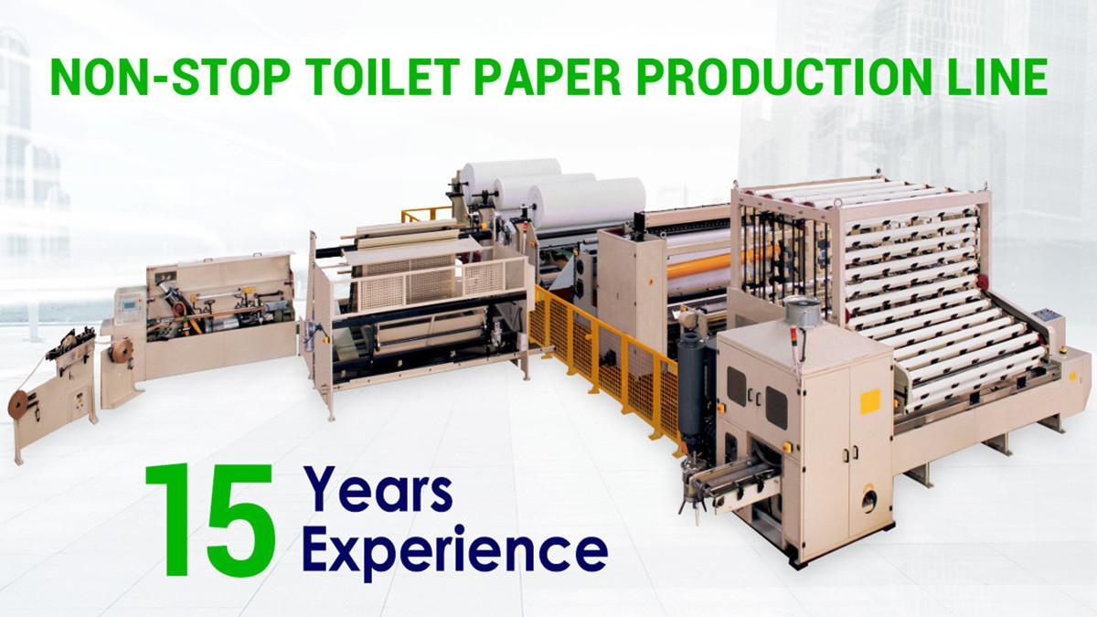 تصميم جديد وأفضل سعر آلة ورق تواليت خط إنتاج المناديل الورقية