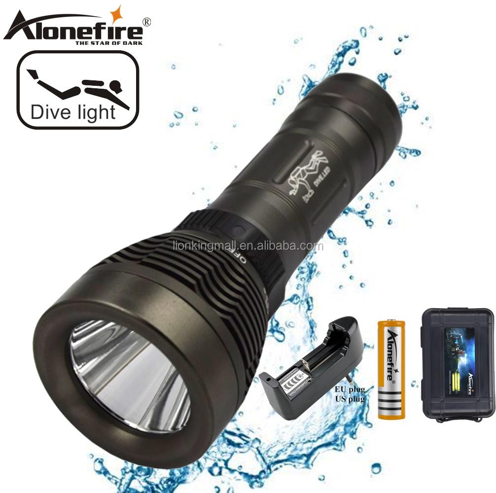 1600 LM DEL CREE XM-L T6 Lampe de poche étanche Camping torche Lampe 18650