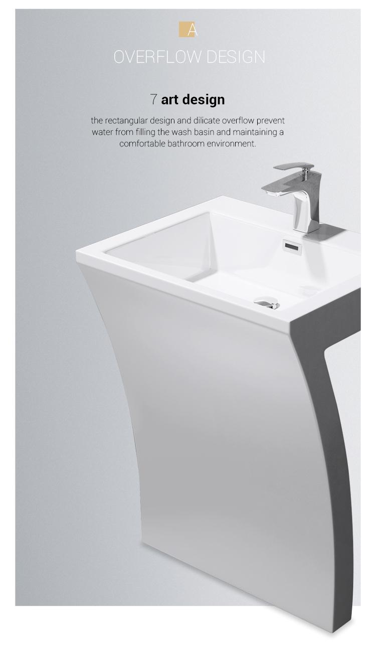 Artificial Stone Washing Basin Sanitary Ware Free Standing Bathroom Wash Sink Buy Washing Basin Sanitary Ware Wall Hung Wash Basin Acrylic Bathroom Sink Product On Alibaba Com