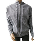 High strength EN388 level 5 cut resistant anti cut clothing full zipper jacket