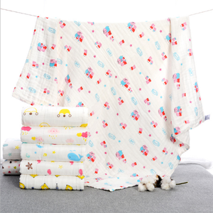 Wholesale soft comfort shower towel for baby cotton