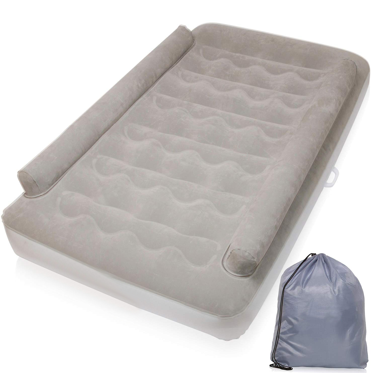 2019 New Kids Air Mattress With Sides Rails Inflatable ...