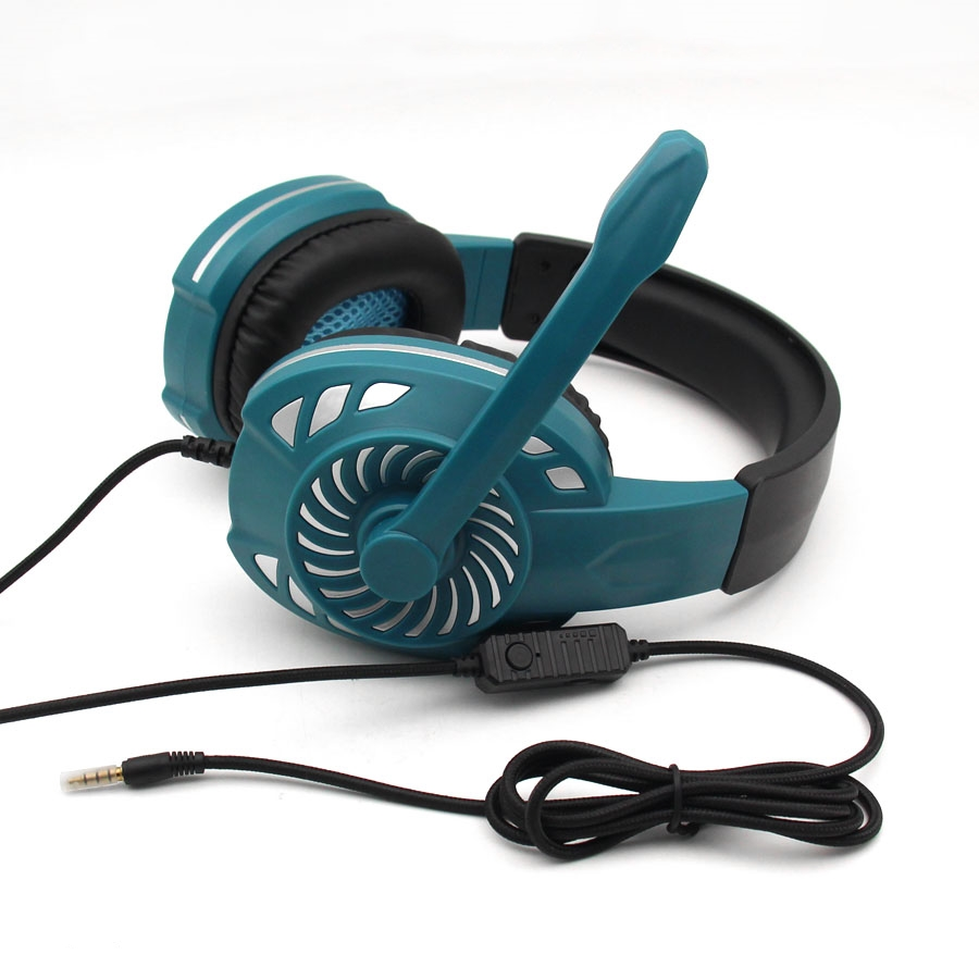 KOMC or OEM  microphone gaming headset with led for  PS4 Xbox